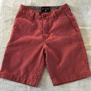 Billabong boys shorts size 23
